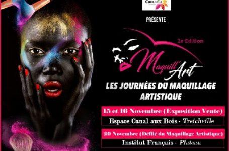 Maquill'art,le rendez-vous professionnel du maquillage artistique à Abidjan